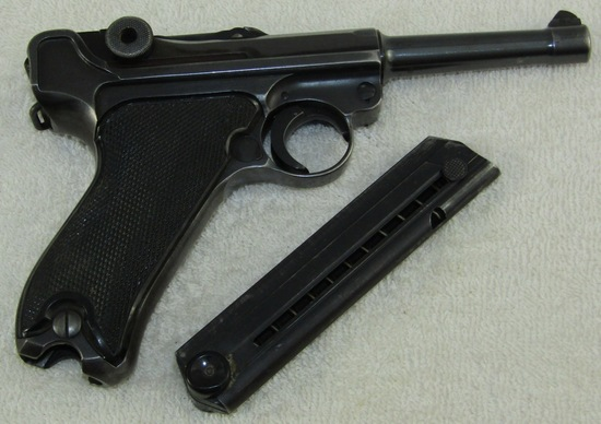 "Matching Numbers Mauser ""byf 41"" Black Widow Luger W/fxo Clip"