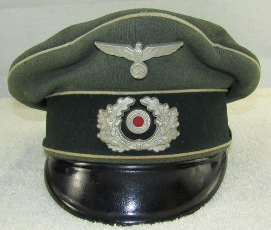 Wehrmacht Infantry Visor Cap For Enlisted.