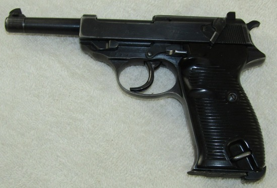 WW2 Period P38 Pistol By Spree Werke-Matching Numbers