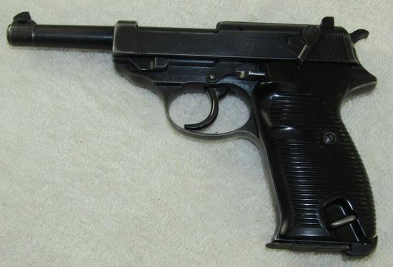 WW2 Period P38 Pistol By Spree Werke-Matching Numbers