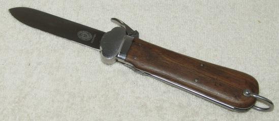 1st Model Fallschirmjäger Gravity Knife-Paul Weyersberg