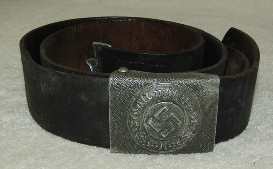German Combat Police Buckle With Belt