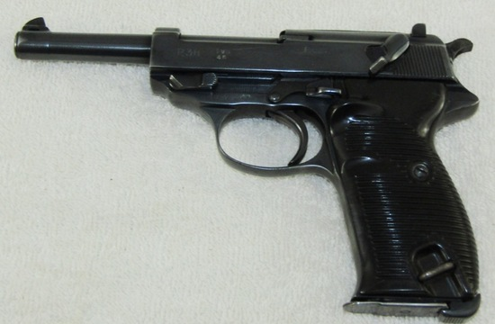 "Late War/Early Post War French Assembled P38 Pistol- ""svw 45"""