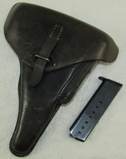 WW2 Period Hard Shell P38 Holster