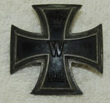 WW1 Iron Cross 1st Class With Scarce 2 Piece Screw back Hardware