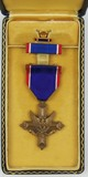 Pre/Early WW2 Full Wrap Brooch Distinguished Service Cross With Edge Number-WW2 Case