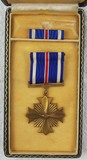 Named WW2 Period U.S. Army Air Corps Distinguished Flying Cross With Case