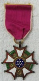 WW2 Period Legion Of Merit Medal-Numbered Full Wrap Brooch