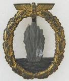 Kreigsmarine Minesweeper Badge