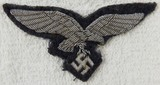 Luftwaffe Officer's Bullion Embroidered Breast Eagle