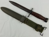 Scarce M4 Bayonet with Scabbard-Japanese Made-Kiffe Japan