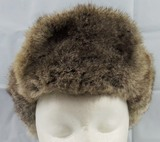 WW2 Period German Wehrmacht Russian Front Cold Weather Fur Cap