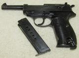 Walther AC 43 P38 Pistol-Matching Numbers-Scarce Black Bakelite Grips