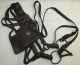 Late Civil War/Indian Wars Through Span-Am War Artillery Horse Harness