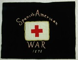 Spanish American War Combat Medic Small Embroidered Tapestry