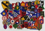 65pcs-Misc. WW2 Period U.S. Army Division Patches