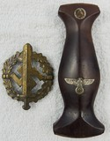 2pcs-SA Sports Badge In Bronze-SA Dagger Grip