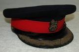 Scarce WWII Period British Brigadier General's Dress Visor Hat