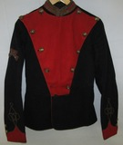 Ca. 1870's Officer's 12th Prince Of Wales Royal Regiment Of Lancers Uniform Jacket