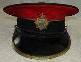 Pre 1902 Victorian Era British Army Bandsman Dress Visor Hat