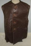 Minty WWII British Army Leather Jerkin-1944 Dated