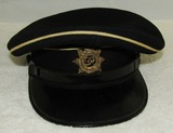 WW2 British Royal Service Corps Dress Visor Hat For Enlisted.