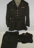 WW2 3rd Infantry Division Captain's Uniform Set-Bullion 3rd Inf. Division  Patch