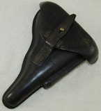 1914 Dated Luger Police Holster-With Unit Stampings