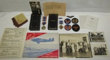 8th AAF/862nd Bomb Squadron B-24/B-17 Pilot Named Medal Grouping-Squadron Commander