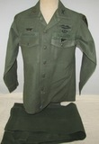 Vietnam War Period U.S. Army Airborne Pathfinder/Special Forces Combat Shirt/Pants-Named