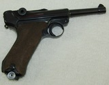1941/42 Code Luger With Clip-Matching Numbers-Has Been Refurbished