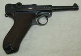 Matching Numbers DWM Luger With Police Unit Markings