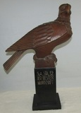 Extremely Rare Early Third Reich SA Unit Award Trophy-Hand Carved Eagle