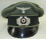 Wehrmacht Infantry Visor Cap For Enlisted.