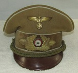 German Political leader Kreis Level Visor Hat