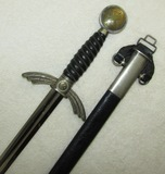 Extremely Nice Luftwaffe Officer's Sword With Scabbard/Hanger-F & A HELBIG