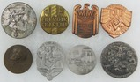 8pcs-Misc WW2 German Rally Badges