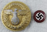 2pcs-Political Leader Belt Buckle-NSDAP Party Pin
