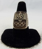 Extremely Rare 1936 Olympics Men's Ring