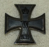 WW1 Iron Cross 1st Class-Pin Back