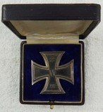 WW1 Iron Cross 1st Class With Case-Scarce