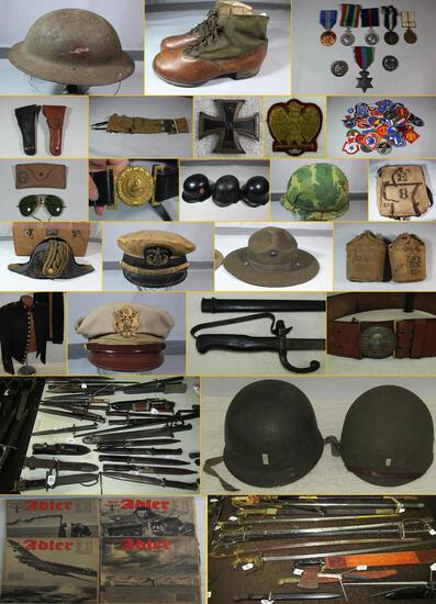 MILITARY COLLECTIBLES AUCTION  NOV. 26, 2019 5pm