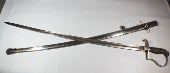 Triple Engraved WW1 Imperial German Field Artillery Regiment No. 63 Sword. Good Cond. Eickhorn