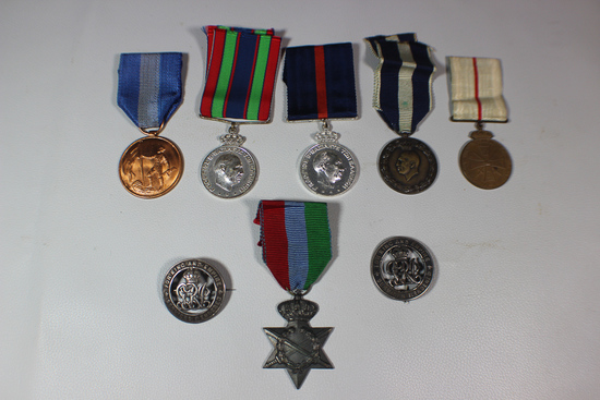 Lot Of WW2 Greek Medals For WW2 Service