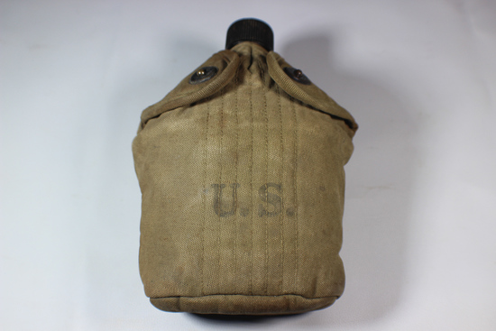 US WW2 Canteen. Cup, Canteen, Lid, Cover.