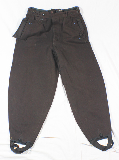 WW2 Italian Made Brown Wool Gabardine Pantaloons. NSKK/Hitler Youth