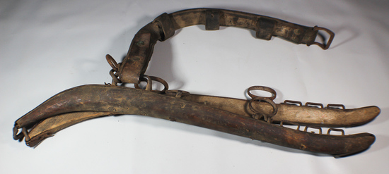 US Civil War Or Post Artillery Horse Team Yoke.