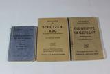 Lot of 3 WW2 German Infantry Field Manuals.