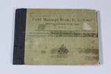 1917 Dated US WW1 Signal Corps Field Message Book.