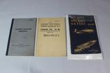 Lot of 3 US WW2 Field Manuals.